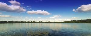 summer lake photo resize